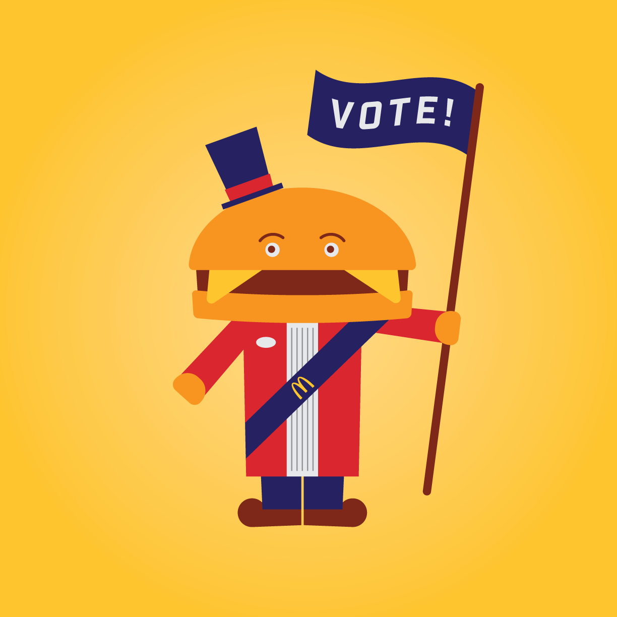 Mayor Mccheese Vote Golden State Restaurant Group While mccheese was a integral part of mcdonaldland in its early years, he was slowly phased out and didn't appear. mayor mccheese vote golden state